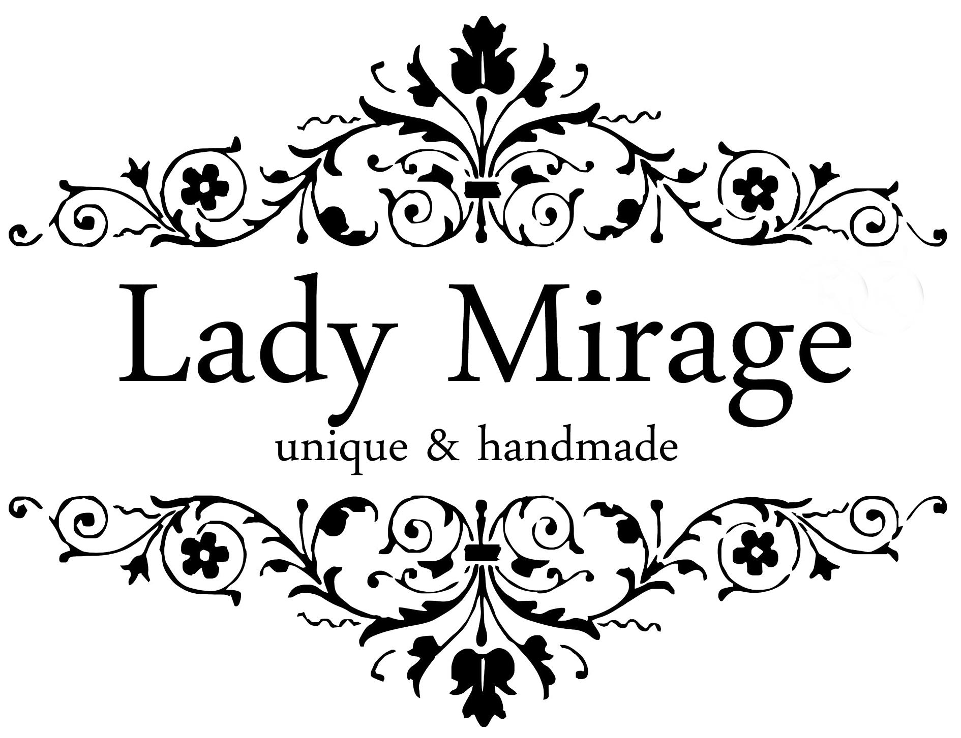 LadyMirage -  Schmuckmanufaktur in Berlin - Handgefertigt und Personalisierbar-Logo
